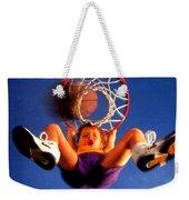 Playing Basketball Weekender Tote Bag