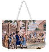 Playing Bowls Weekender Tote Bag