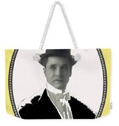 Playing Card Of Actor And Director Romain Fielding Unknown Date-2008 Weekender Tote Bag