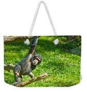 Playing Chimp Weekender Tote Bag