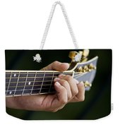 Playing Guitar Weekender Tote Bag