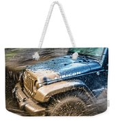 Playing In The Mud Weekender Tote Bag