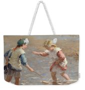 Playing In The Shallows Weekender Tote Bag