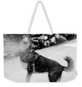 Playing In The Snow Weekender Tote Bag by Carol Groenen
