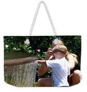 Playing In Water Weekender Tote Bag