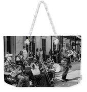 Playing Jazz On Royal Street Nola Weekender Tote Bag