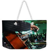 Playing The Cello  Weekender Tote Bag