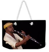 playing the Clarinet Weekender Tote Bag