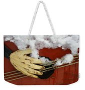 Playing The Cold Blues Weekender Tote Bag