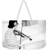 Playing Violin Weekender Tote Bag