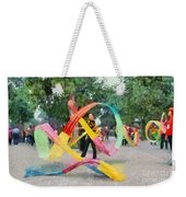 Playing With The Ribbons Weekender Tote Bag