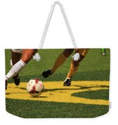 Plays On The Ball Weekender Tote Bag
