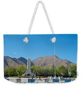Plaza Across From Potala Palace Which Replaced A Natural Lake-tibet Weekender Tote Bag