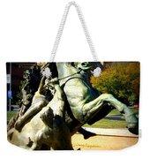 Plaza Horse Weekender Tote Bag