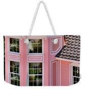 Beautiful Pink Turret - Boardwalk Plaza Hotel Annex - Rehoboth Beach Delaware Weekender Tote Bag