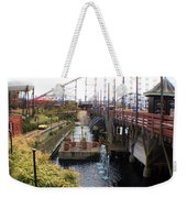 Pleasure Beach Roller Coaster Weekender Tote Bag