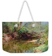Pleasure Of  The Enchanted Wolf Weekender Tote Bag