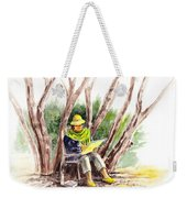 Plein Air Artist At Work Weekender Tote Bag by Irina Sztukowski