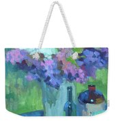 Plein Air Lilacs Weekender Tote Bag