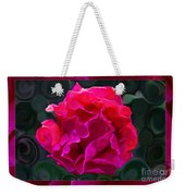 Plentiful Supplies Of Pink Peony Petals Abstract Weekender Tote Bag
