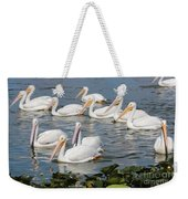 Plenty Of Pelicans Weekender Tote Bag