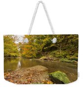 Plessey Woods And The River Blyth Weekender Tote Bag