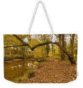 Plessey Woods Riverside Footpath Weekender Tote Bag