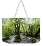 Plitvice Lakes Weekender Tote Bag