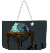 Plotting To Conquer The World... Weekender Tote Bag