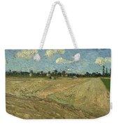 Ploughed Fields Weekender Tote Bag