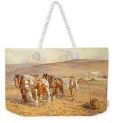 Ploughing Weekender Tote Bag