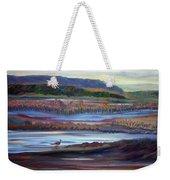 Plum Island Salt Marsh Sunset Weekender Tote Bag