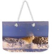 Plum Island Waves Weekender Tote Bag