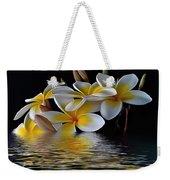 Plumeria Alba Weekender Tote Bag