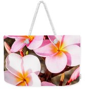 Plumerias Of Paradise 2 Weekender Tote Bag