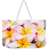 Plumerias Of Paradise 6 Weekender Tote Bag