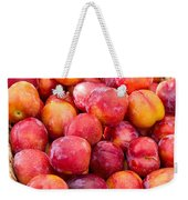 Plums In A Basket Weekender Tote Bag