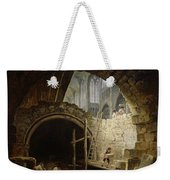 Plundering The Royal Vaults At St. Denis In October 1793 Oil On Canvas Weekender Tote Bag