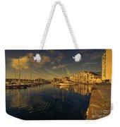 Plymouth Barbican Marina  Weekender Tote Bag