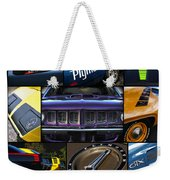 Plymouth Collage No. 1 Weekender Tote Bag