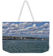 Plymouth Harbor Weekender Tote Bag