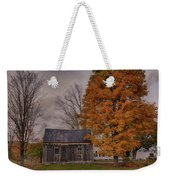 Plymouth Notch Barn In The Fall Weekender Tote Bag
