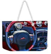 Plymouth Prowler Steering Wheel Weekender Tote Bag