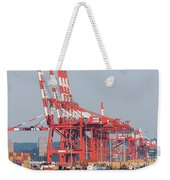 Pnct Facility In Port Newark-elizabeth Marine Terminal I Weekender Tote Bag