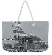 Pnct Facility In Port Newark-elizabeth Marine Terminal II Weekender Tote Bag