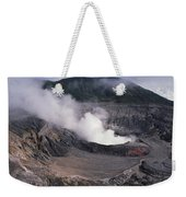 Poas Volcano National Park Costa Rica Weekender Tote Bag
