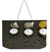 Pocket Watches Weekender Tote Bag