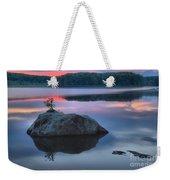 Poconos Sunset Mirror Weekender Tote Bag