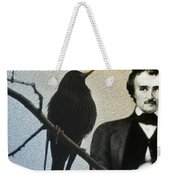 Poe And The Raven Weekender Tote Bag