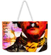 Poe Industries Steampunk Machines Patent Pending 20140518 Square V3 Weekender Tote Bag